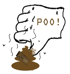 Poo-thumb's-down