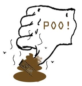 Poo-thumb's-down