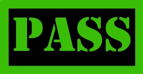 Pass-sign