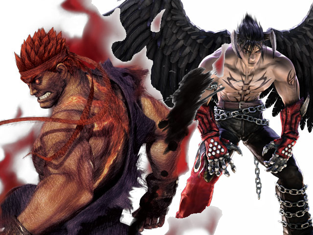 you didn t hear this from me but evil ryu and devil kazuya may