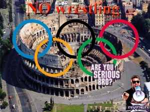 Wrestling-vs-Olympic